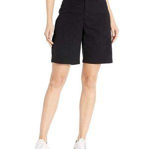 Calvin Klein Bermuda Shorts 100% Cotton Size 8 bla